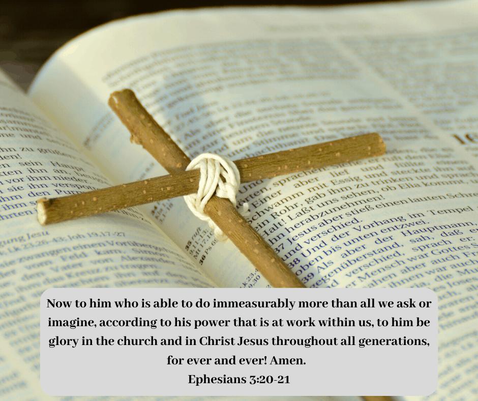 Ephesians 3:14-21